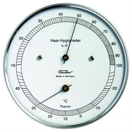Hair Hygrometer Thermometer, Model 11101T and 11102T
