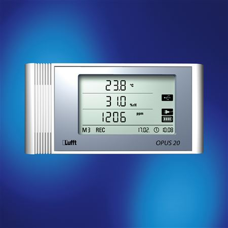 Opus 20 Datalogger for Temp, RH, CO2