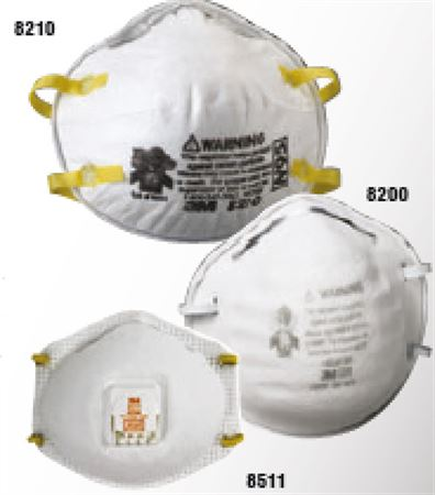 N95 Industrial Particulate Respirator, 3M