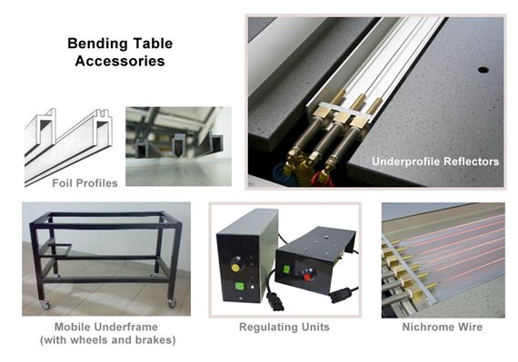 Bending Table Accessories 2 Foot