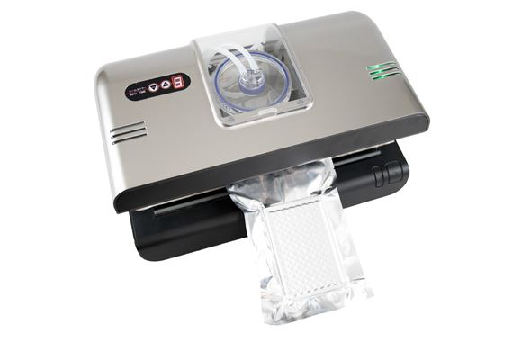 Retractable Compact Nozzle Vacuum Sealer