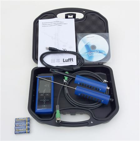 XA1000 KIT All-in-ONE | Temp/Humidity, Flow, Air pressure, w/ 9130-54 and 6120-52, Sensors,Cable,Case