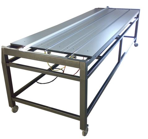 10 Foot Bending Table, 2 underprofile, 1 EV control