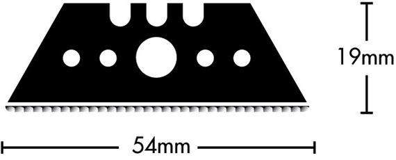Replacement blades - Serrated - pkg/10