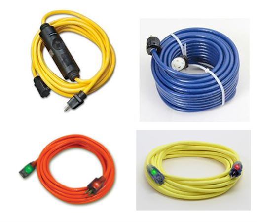 Extension Cords and GFCI Cable
