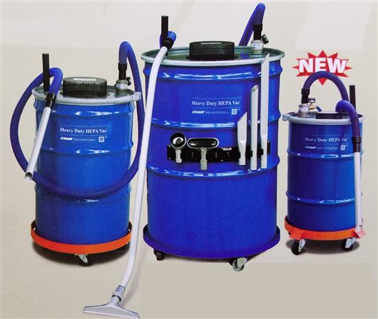 Heavy Duty HEPA Industrial Vacuum