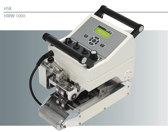 High Performance Data Acquisition Wedge Welder