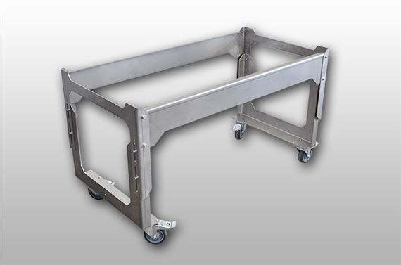 IC Carrier Cart for bending tables
