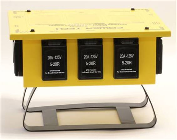 Power Tech Temporary Power Distribution Box