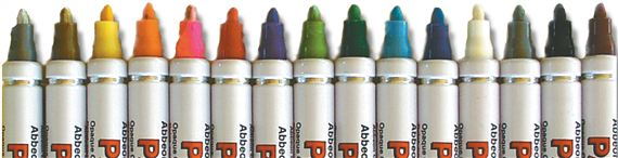 pkg/15 Brown Paint Pens