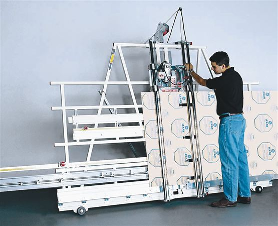 The Series 6400 and 6800 Vertical Panel Saws