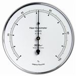 HYGROMETER, 103MM SS CASE, SYNTHETIC HAIR